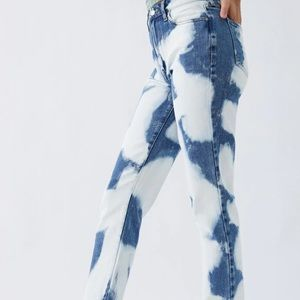 Bleach acid wash Pacsun jeans